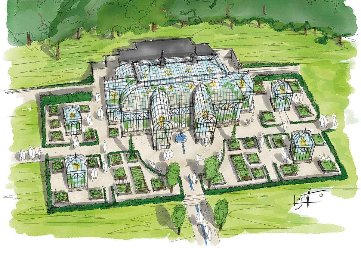Invigning av växthus & köksträdgård