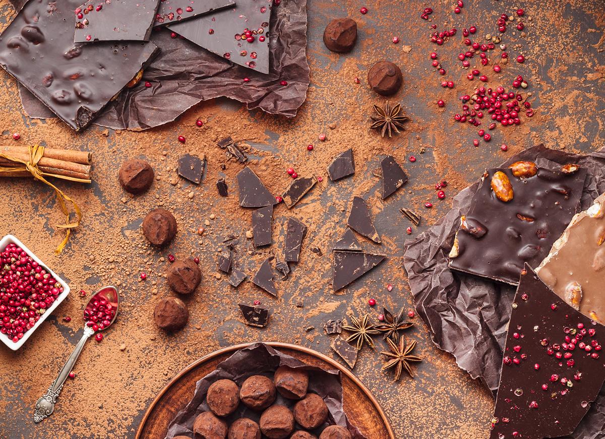 Chokladprovning i julens tecken