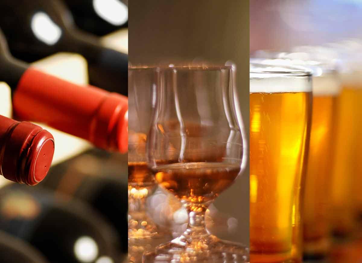 Öl-, vin- och whiskyprovning