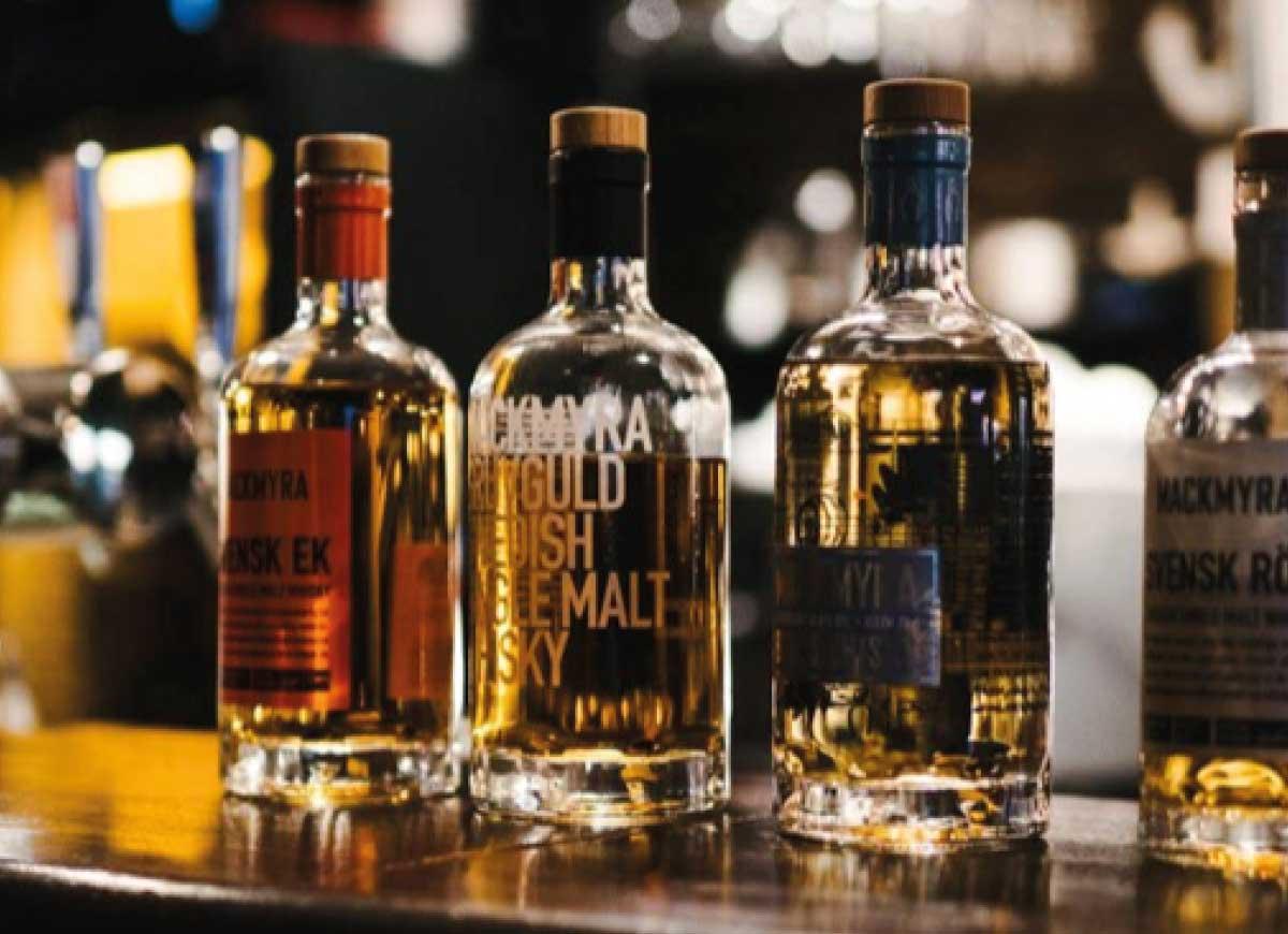 Exklusiv whiskyprovning med Mackmyra