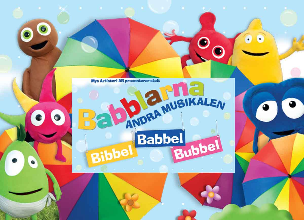 Babblarna Andra Musikalen – Bibbel Babbel Bubbel