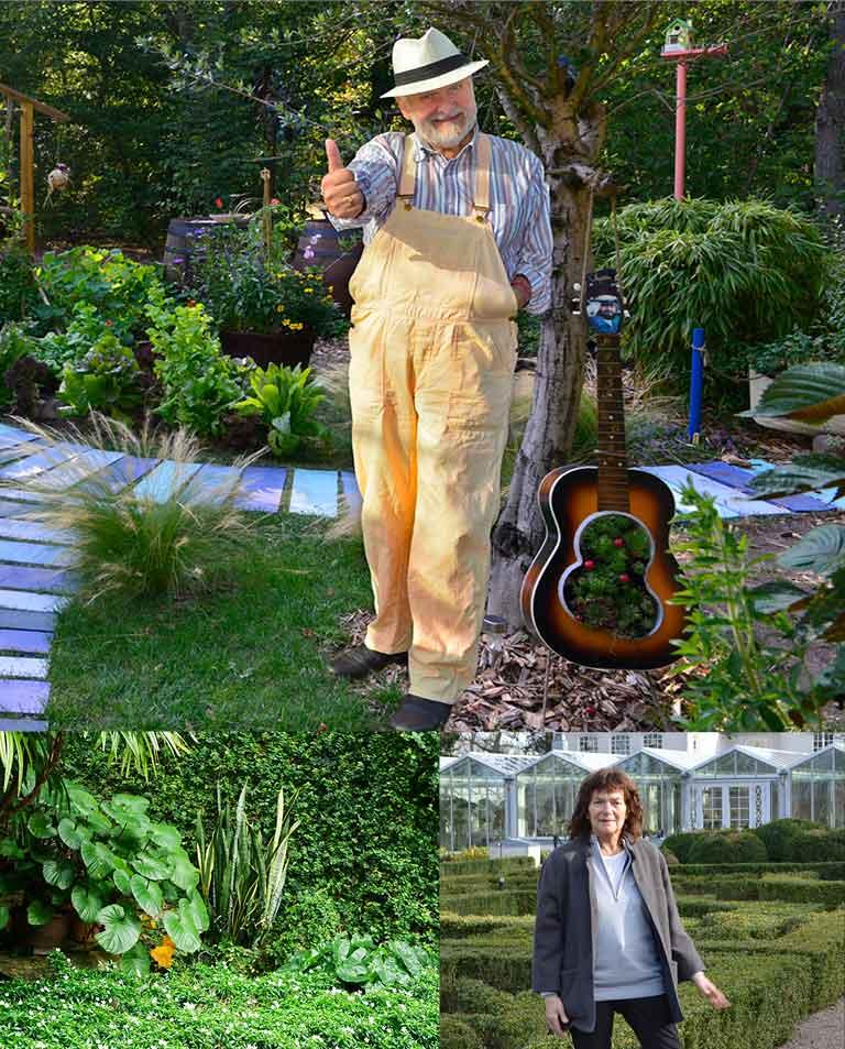 Hasses glada trädgård & Molins