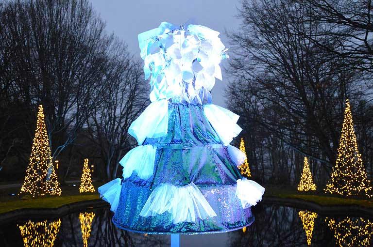 Julmarknad klänning