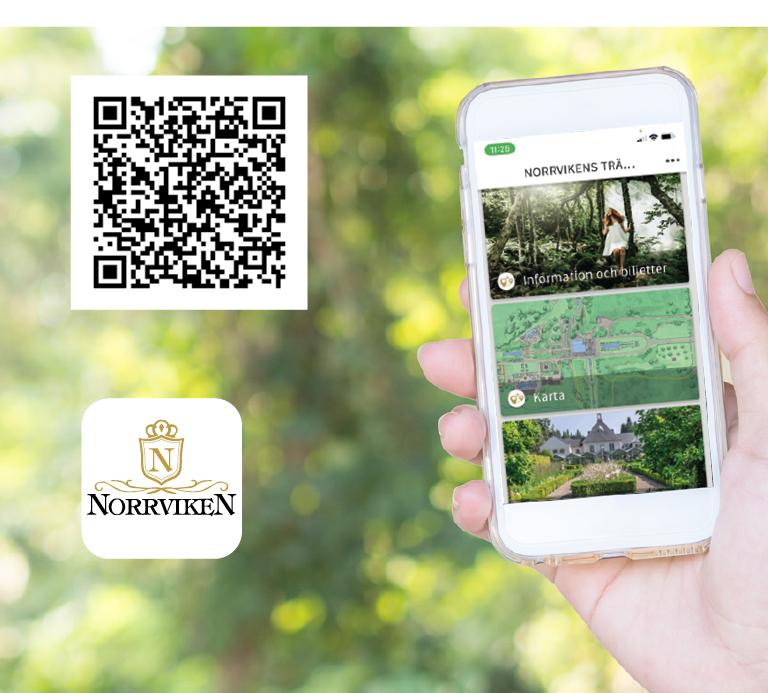 Upptäck Norrviken  med vår app